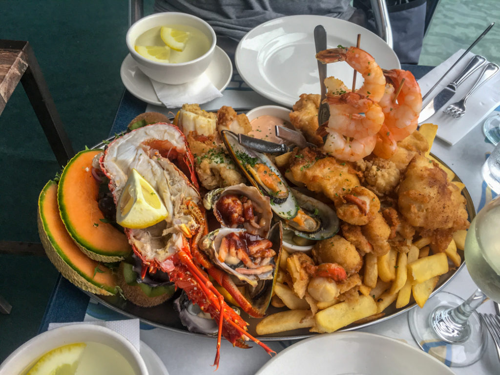 Seafood Platter at Pedro's The Restaurant in Ulverstone, Tasmania. Just one of over 40 things to do in Devonport and Tasmania's North West.