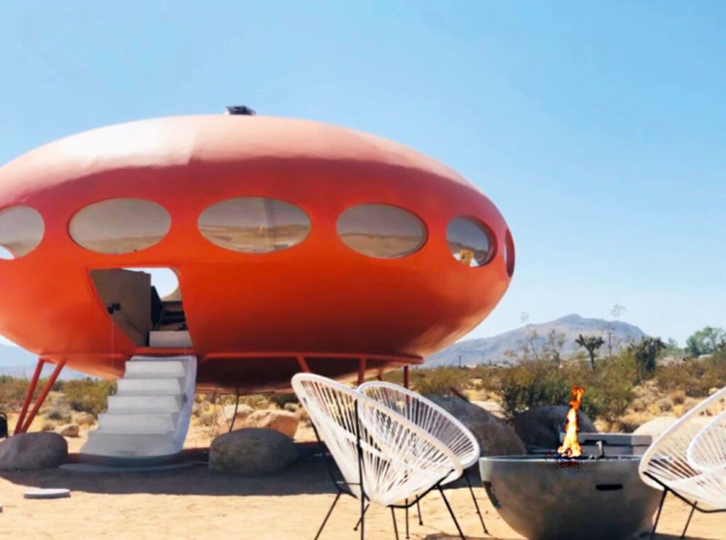 Area 55 Futuro House Airbnb - one of the best places to stay near Joshua Tree