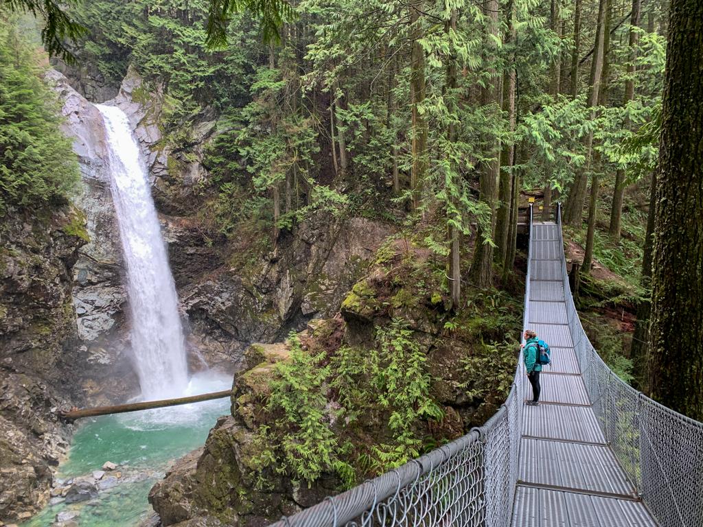 Cascade Falls near Vancouver, BC
