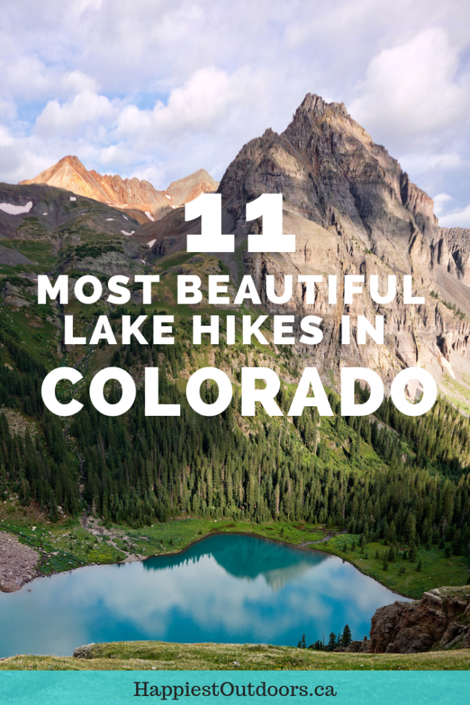 The 11 most beautiful lake hikes in Colorado. Hike to Instagrammable alpine lakes in Rocky Mountain National Park and elsewhere in Colorado. Includes popular hikes and off-the-beaten-path gems. #Colorado #hiking #RockyMountains