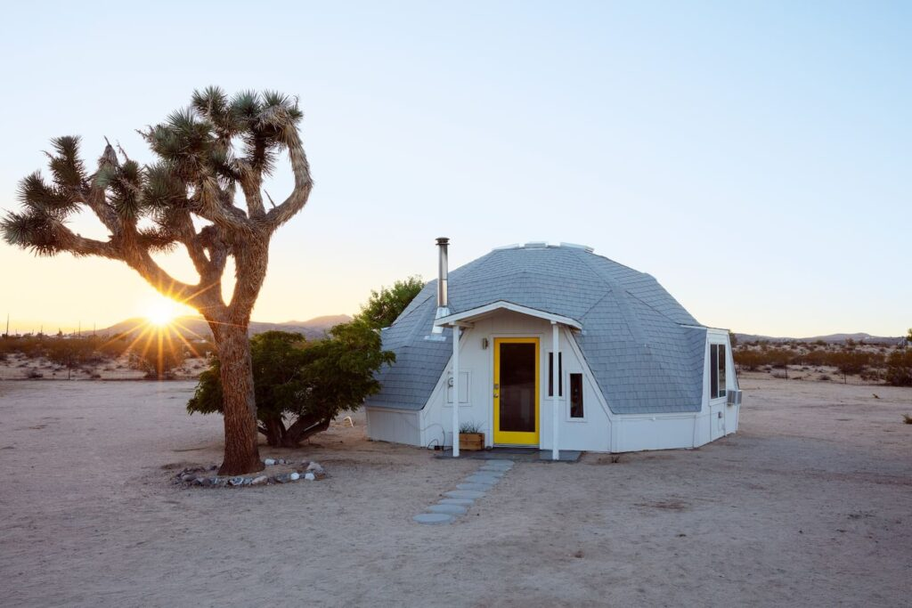 Dome in the Desert Airbnb - one of the best places to Stay in Joshua Tree