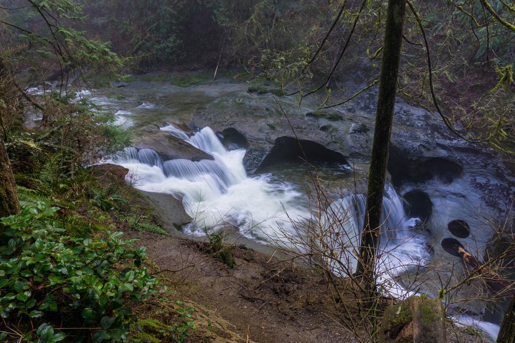 Kanaka Creek Falls, also known as Cliff Falls in Maple Ridge