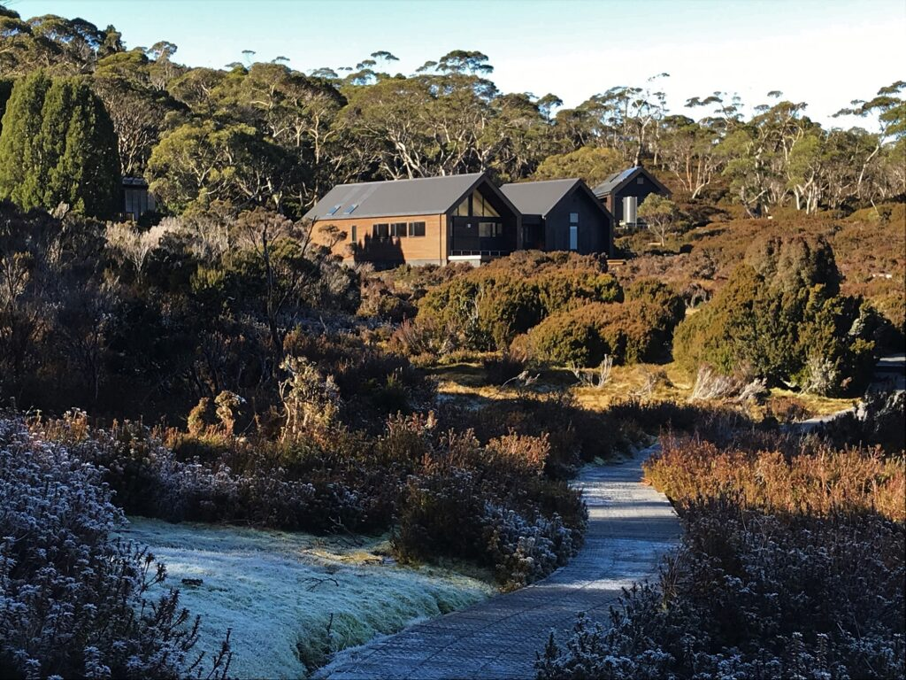New Waterfall Valley Hut on the Overland Track