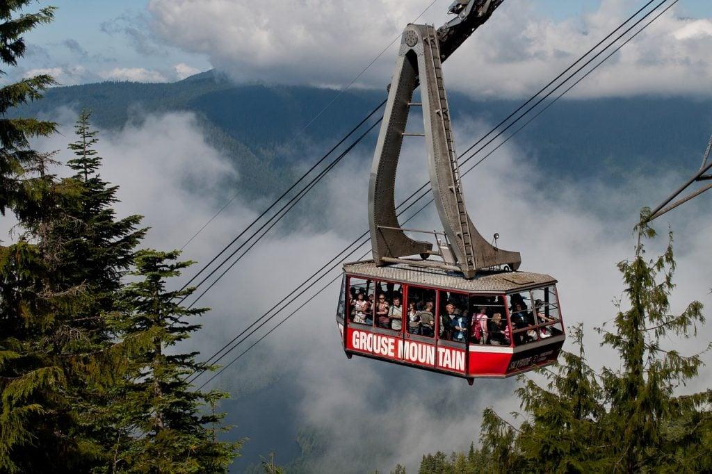 Grouse Mountain Gondola, Vancouver, BC