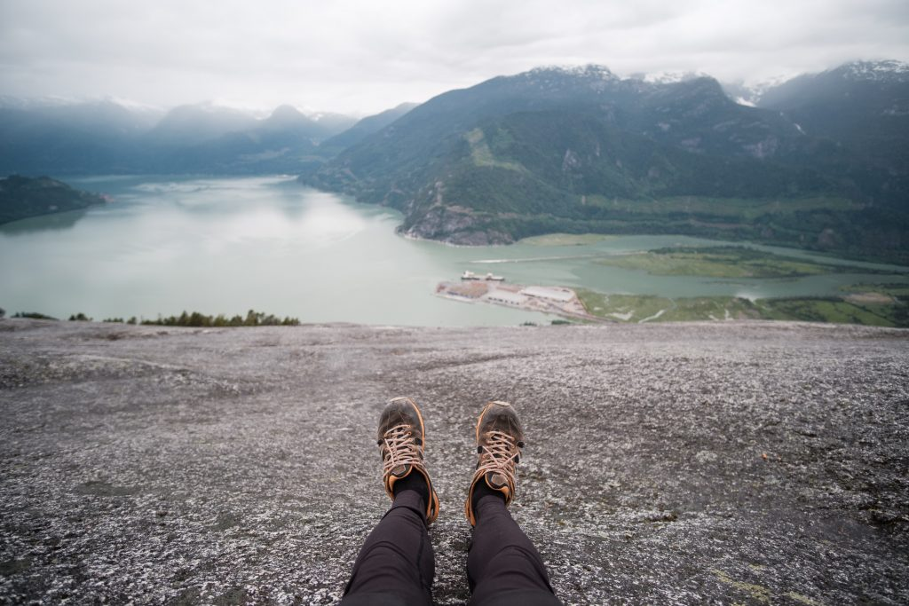 The Stawamus Chief hike is even steeper than the Grouse Grind
