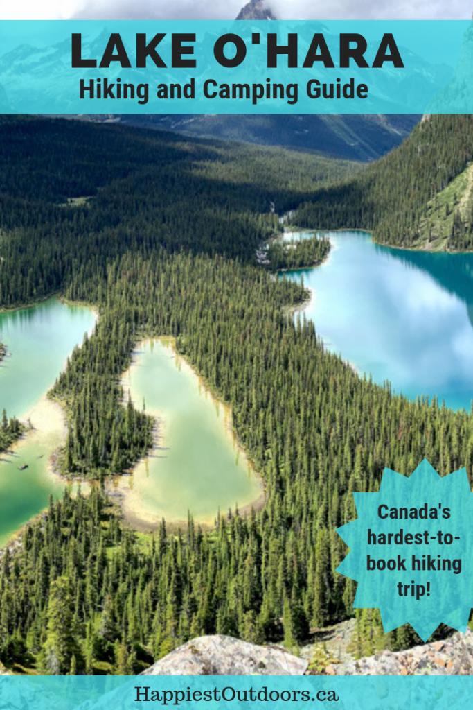 Lake O'Hara hikingA hiking and camping guide for Lake O'Hara in Yoho National Park, Canada. Includes information on how to get to Lake O'Hara, Lake O'Hara bookings, camping information and hiking trail descriptions. This is Canada's hardest to book hiking trip with a limited number of reservations available. Find out how to visit this beautiful place in the Canadian Rockies. #LakeOHara #YohoNationalPark #CanadianRockies #BritishColumbia