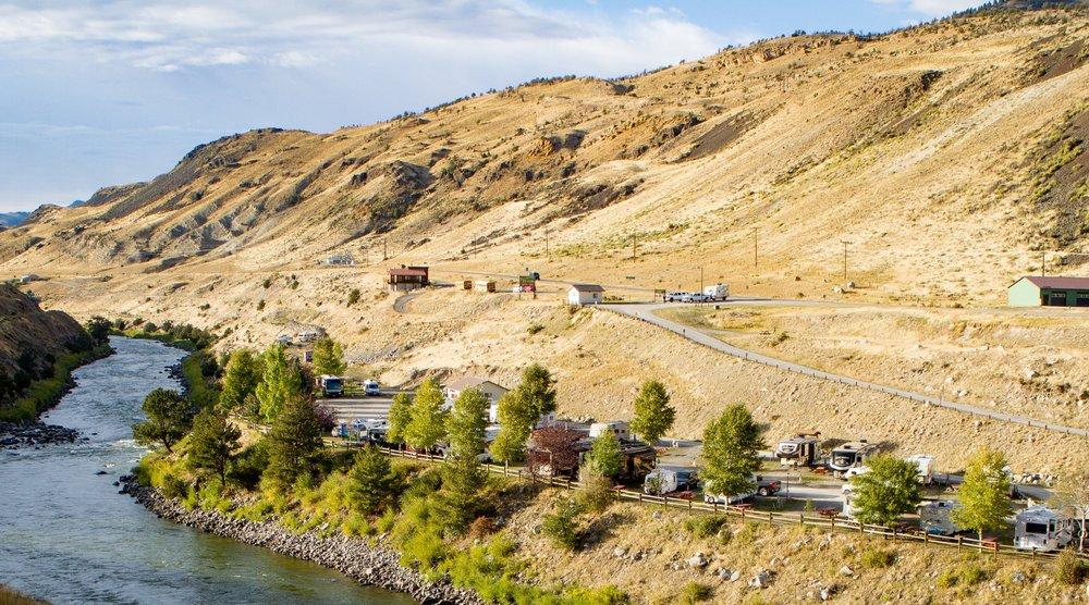 Yellowstone RV Park in Gardiner, Montana