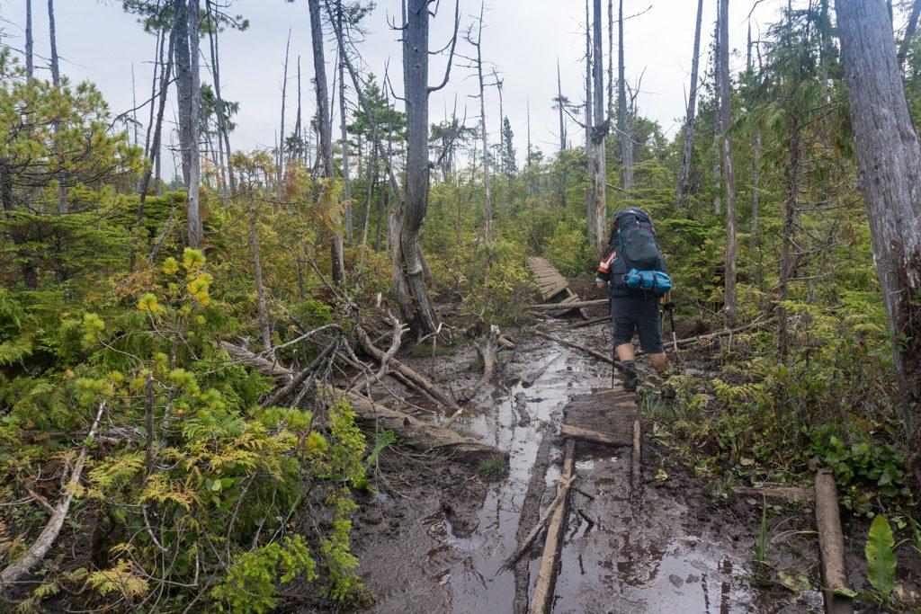 Mud on the West Coast Trail