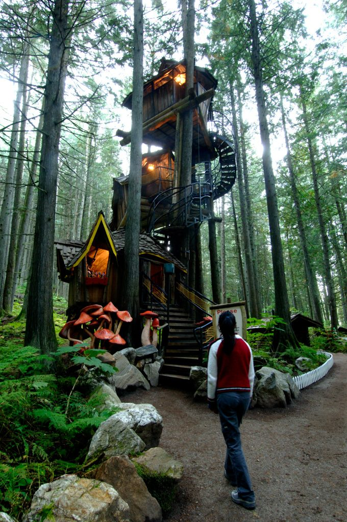 Treehouse in the Enchanted Forest in Revelstoke, BC