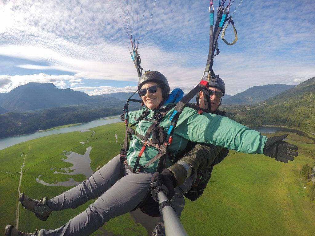 Paragliding in Revelstoke, BC