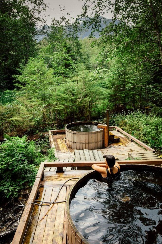 Aiyansh Hot Springs in Northern British Columbia