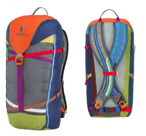 Cotopaxi Tarak Del Dia backpack, a great eco-friendly gift for hikers