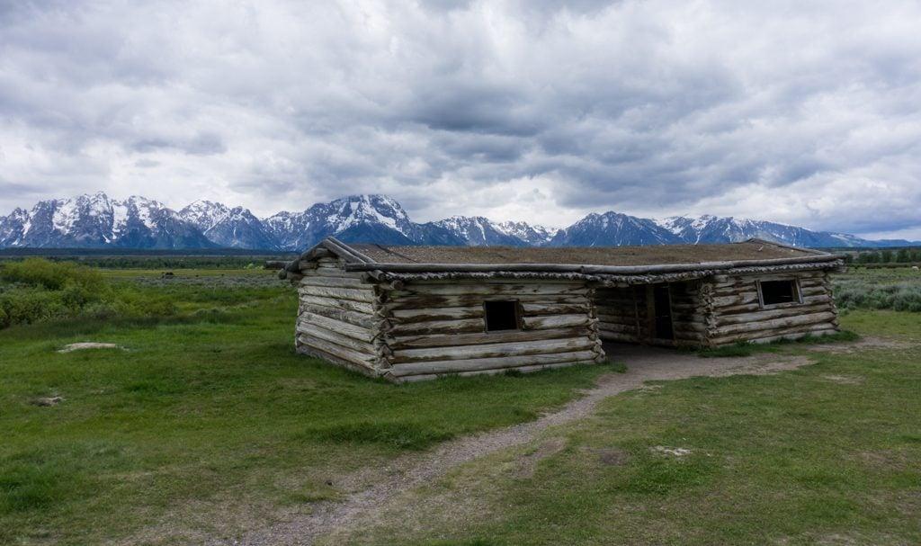 Historic Cunningham Cabin in Grand Teton National Park