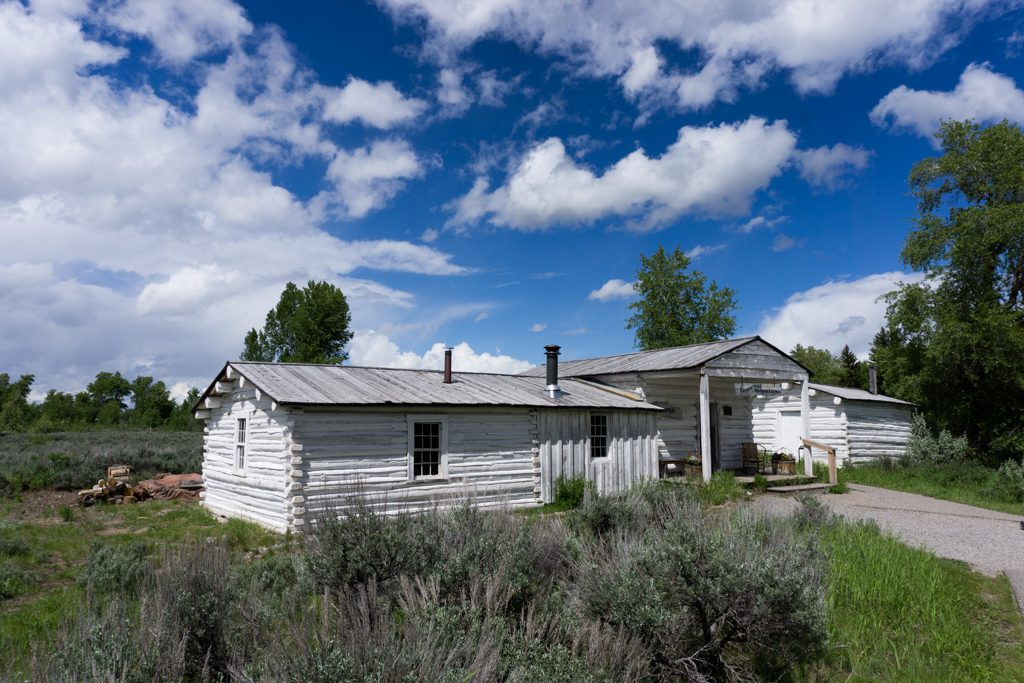 The general store at Menors Ferry in Grand Teton National Park