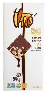 Theo chocolate is organic and fair trade