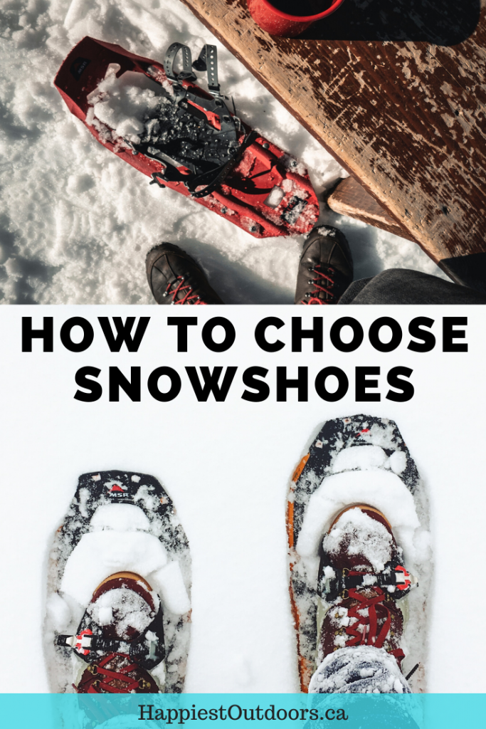 How to choose snowshoes. Find the best snowshoe brands, learn about snowshoe bindings and get advice on the best snowshoes for your area. #snowshoes #snowshoeing
