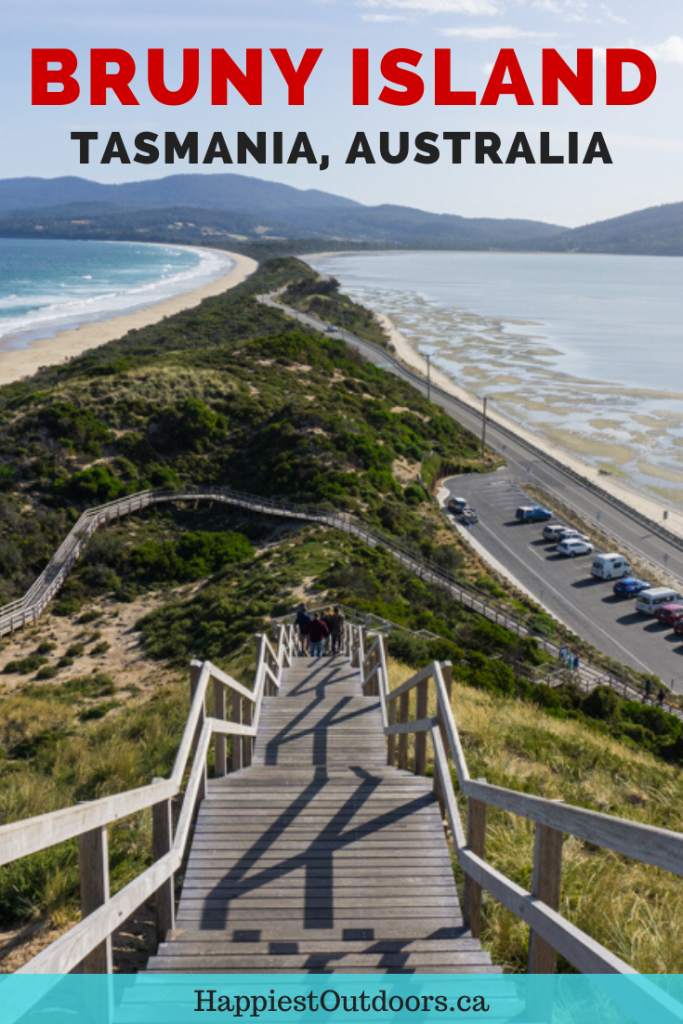 Things to do on Bruny Island, Tasmania, Australia. Visit this foodie and nature-lover's paradise off the coast of Tasmania. It's a great day trip for Hobart or a weekend getaway. The island has lots of great foodie stops with fresh oysters, local cheese, craft beer, chocolate and more. Plus the scenery is stunning with a lighthouse, viewpoints and lots of hiking. #BrunyIsland #Tasmania #Australia