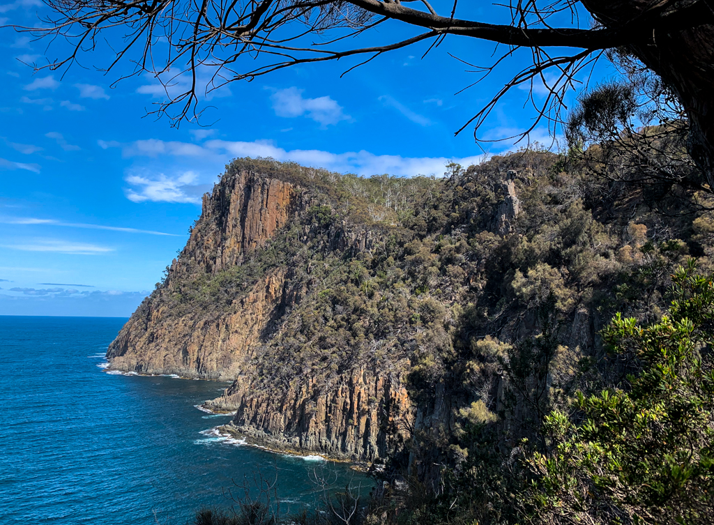 Fluted Cape on Bruny Island