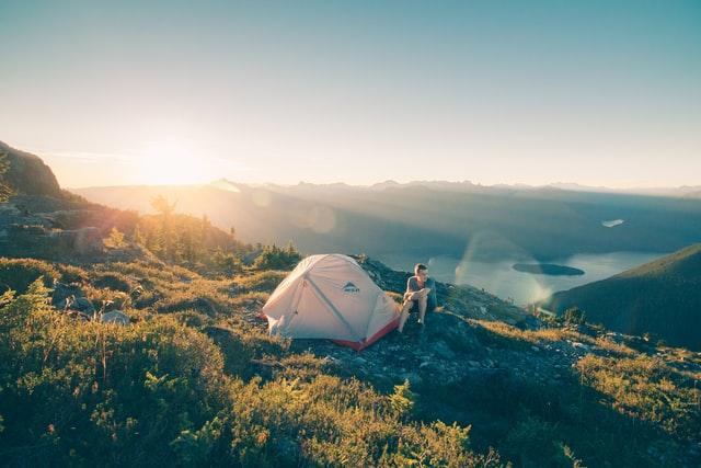 Camping on Golden Ears Peak