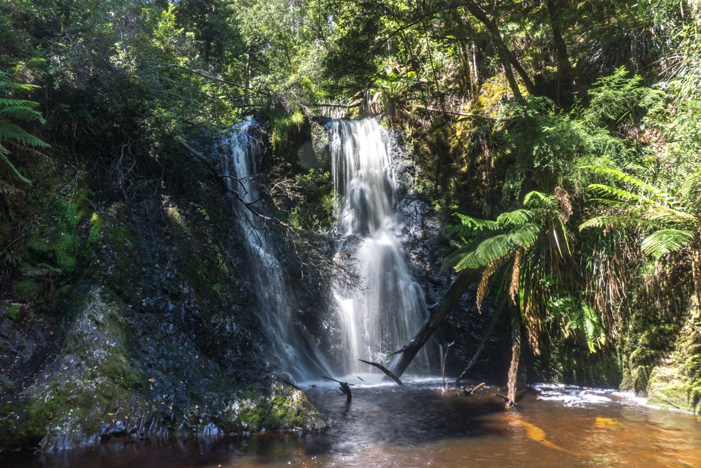Hogarth Falls in Strahan