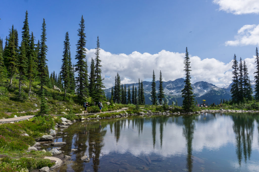 Harmony Lake in Whistler, BC