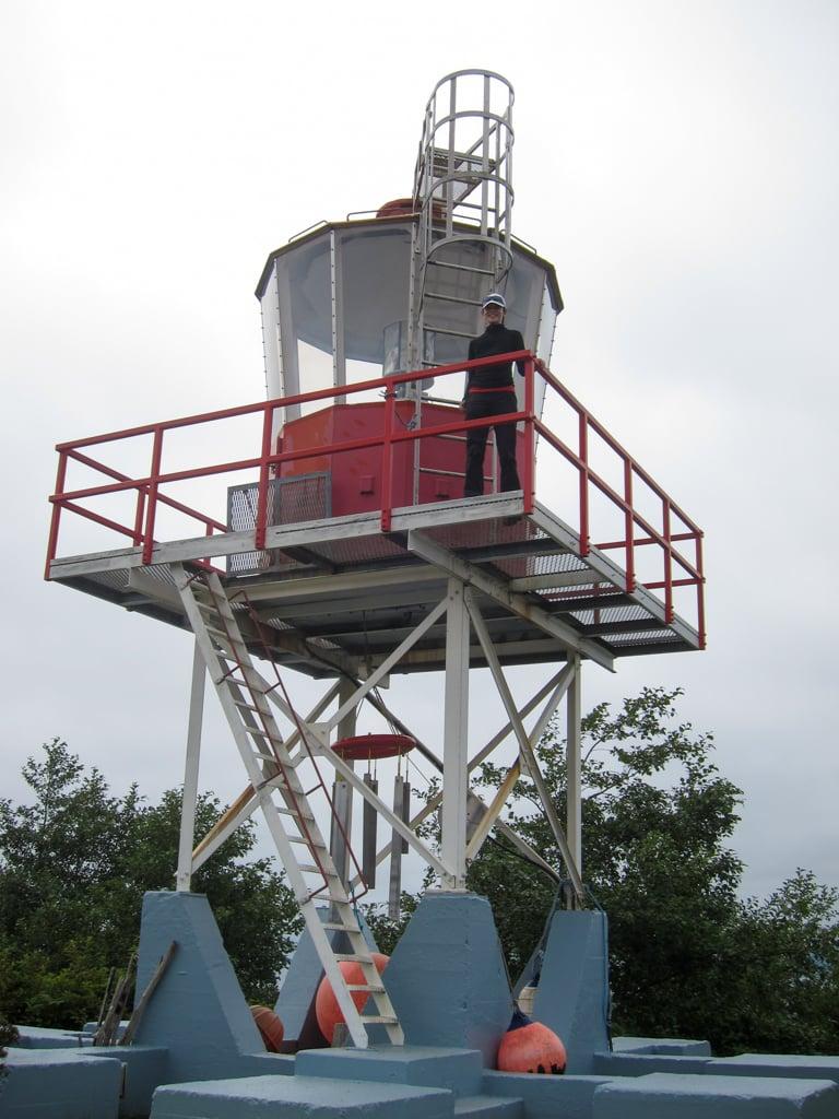 Cape Scott lighthouse