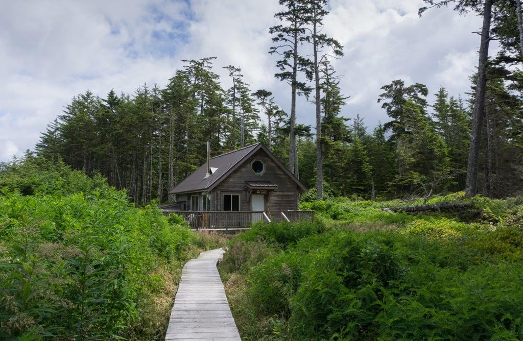 Cape Scott ranger cabin