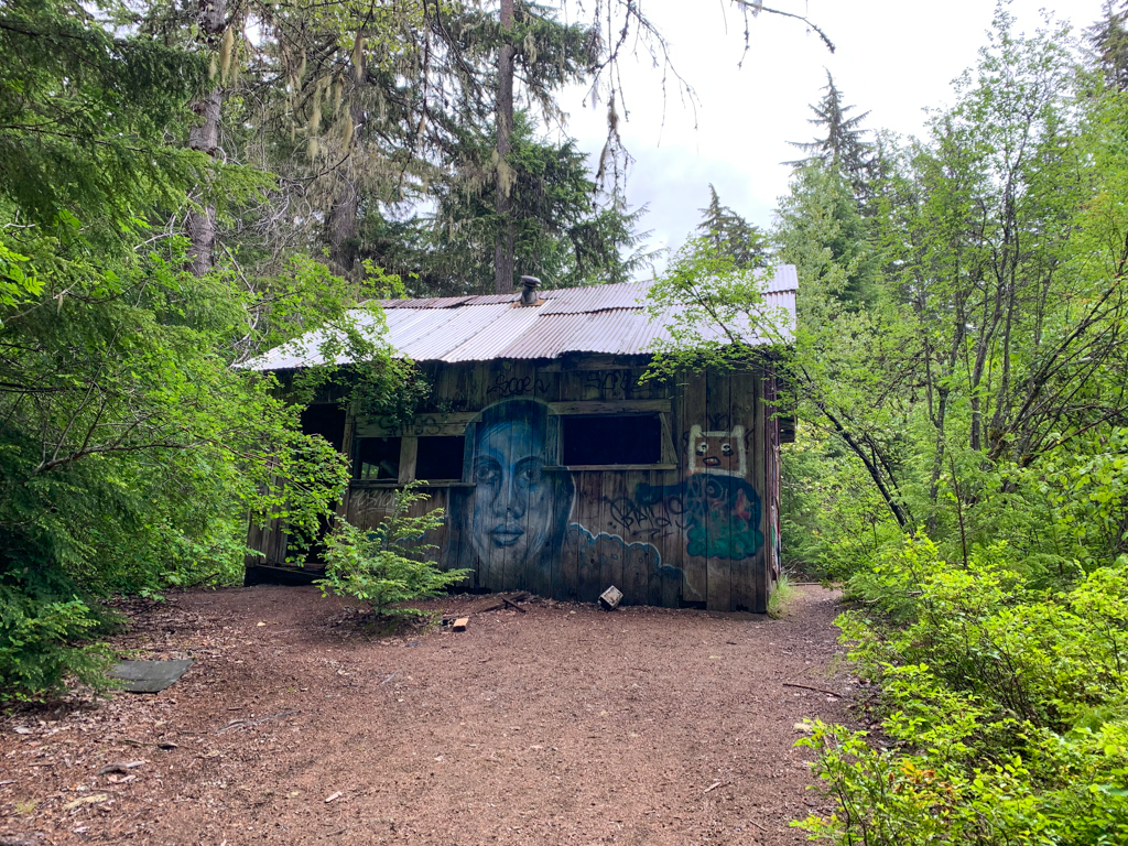 Cabin in Parkhurst Ghost Town, BC