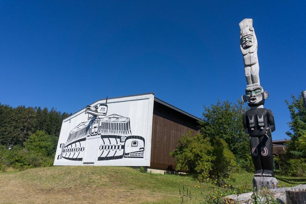The U'mista Cultural Centre in Alert Bay, BC