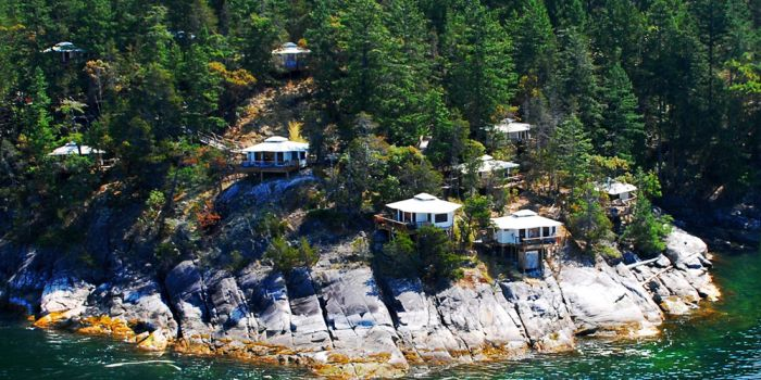 Rockwater Secret Cove Tent Cabins in Halfmoon Bay on British Columbia's Sunshine Coast