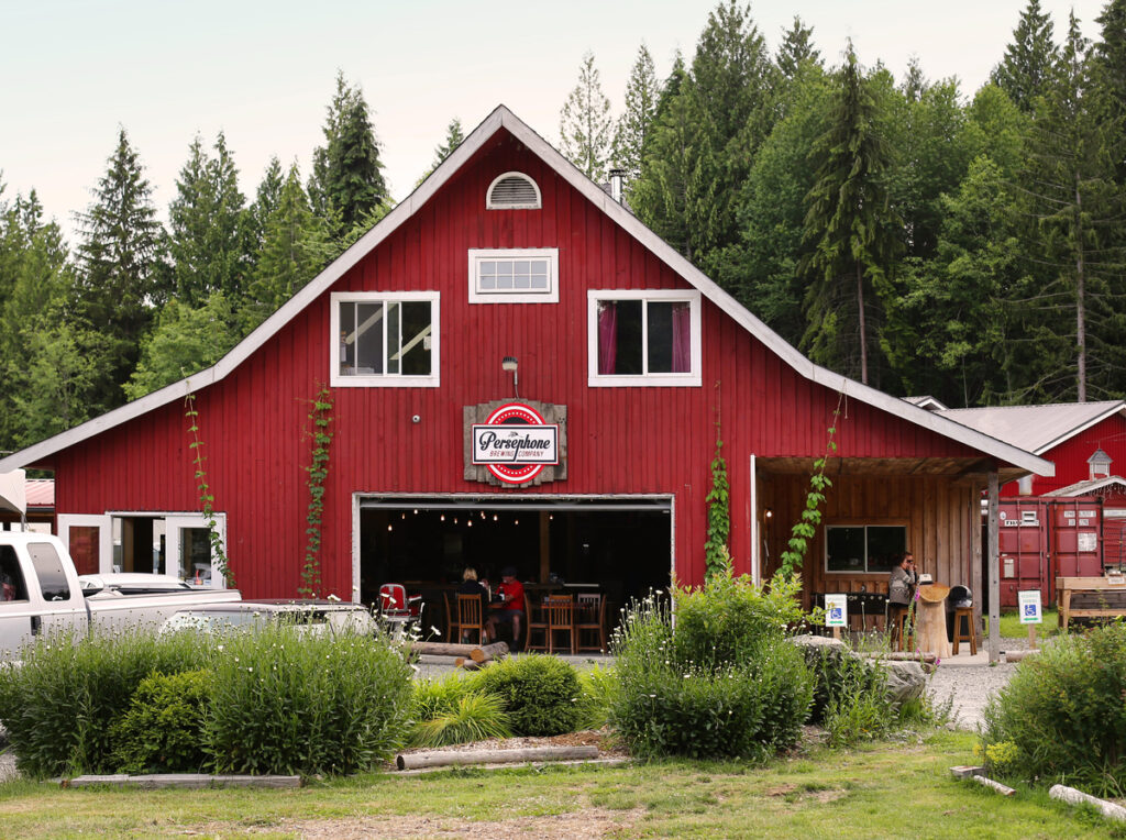 Persephone Brewing in Gibsons - one of the best things to see on the Sunshine Coast, BC