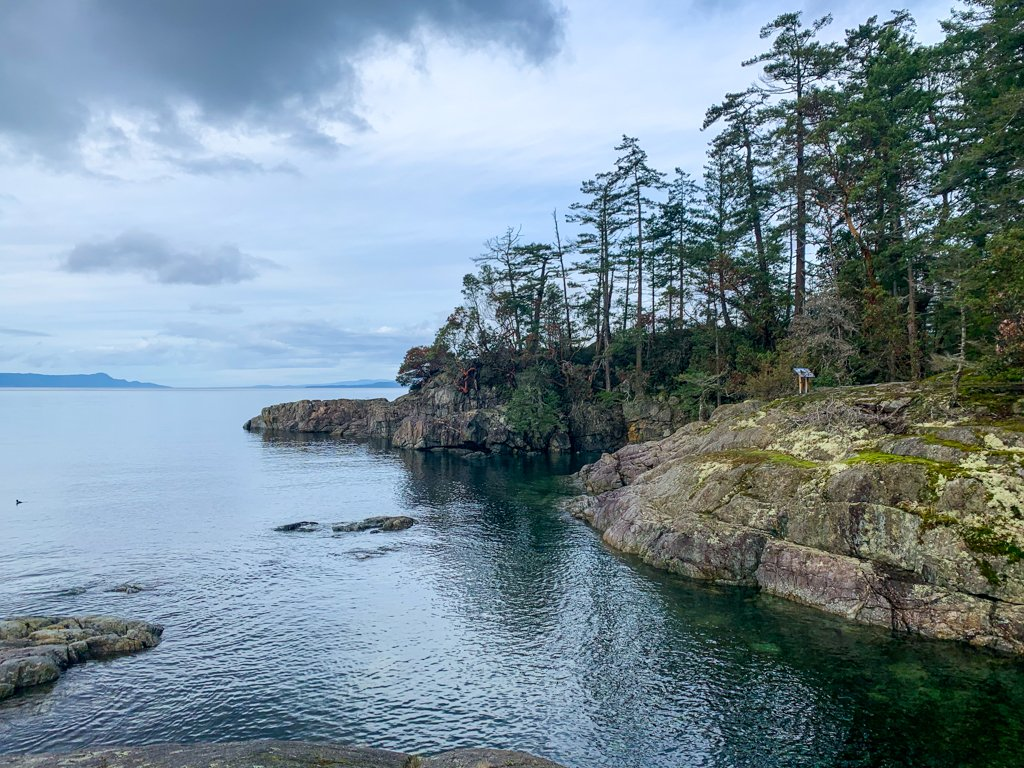Smuggler's Cove on the Sunshine Coast, BC