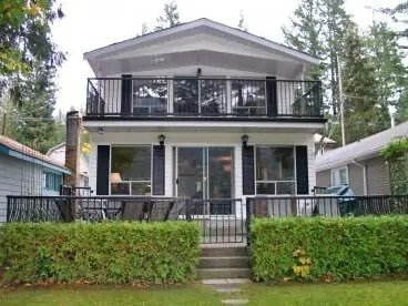 Cultus Lake Waterfront cabin near Vancouver.