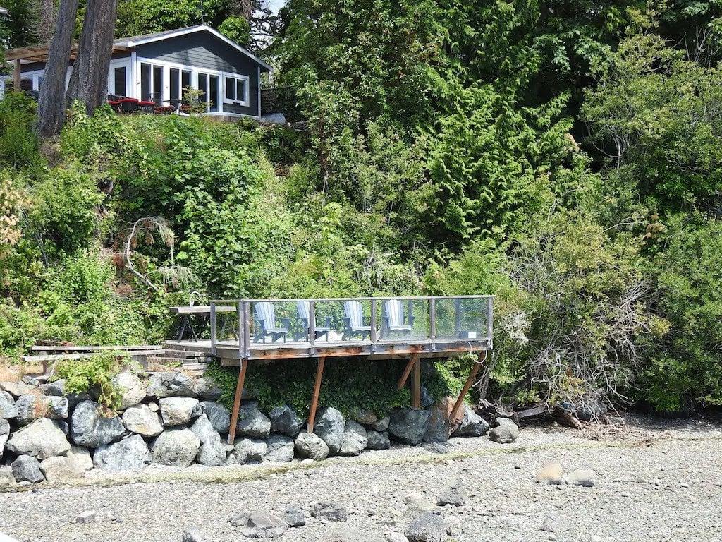 Oceanside cottage in Sooke, BC