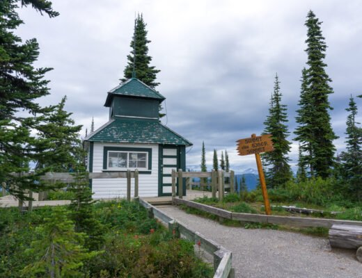 Fire lookout in Mount Revelstoke National Park. One of the best things to do in Mount Revelstoke National Park