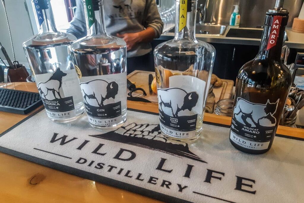 Wild Life Distillery in Canmore